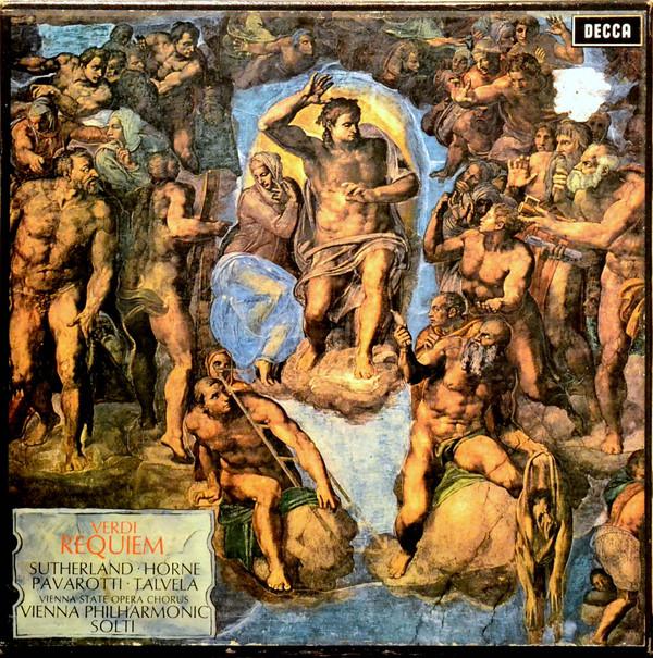Verdi Requiem, VPO, Solti, et al, on Decca